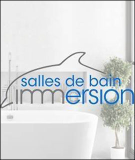 logo salles de bain immersion